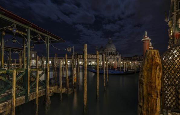 Картинка город, Венеция, S Maria della Salute