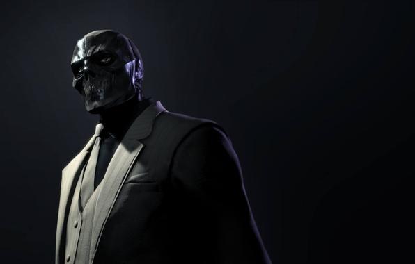 Картинка взгляд, костюм, галстук, пиджак, убийца, Black Mask, Batman: Arkham Origins, Warner Bros. Interactive Entertainment, суперзлодей, …