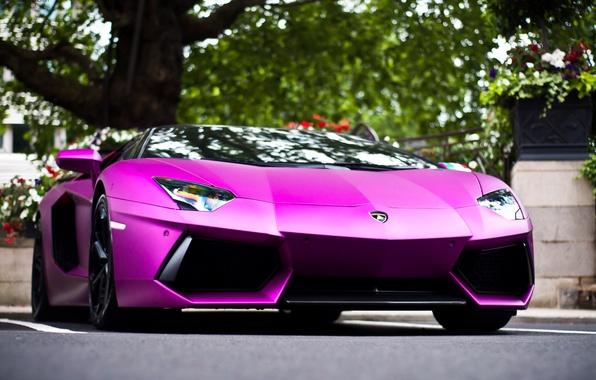 Картинка город, Lamborghini, Ламборджини, Ламборгини, LP700-4, Aventador, Авентадор
