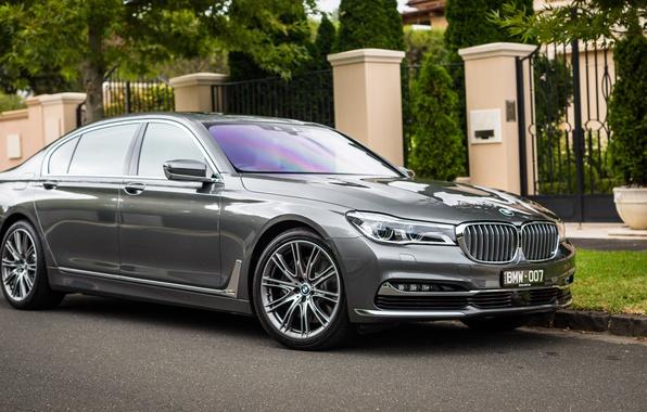 Картинка бмв, BMW, седан, 7-Series, G12