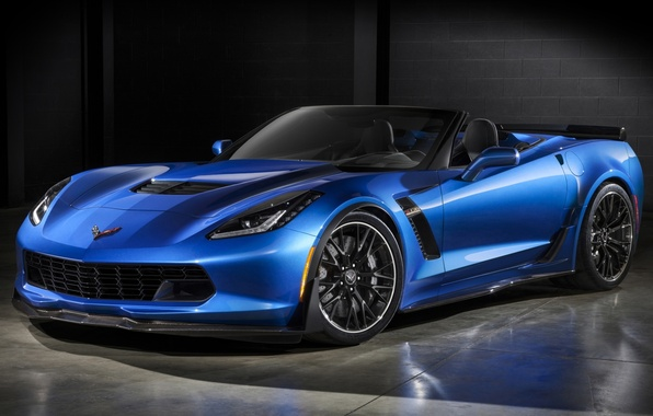 Картинка Z06, Corvette, Chevrolet, Шевроле, суперкар, кабриолет, передок, Convertible, Корвет
