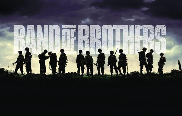 Картинка Сериал, Band of Brothers, Братья по оружию