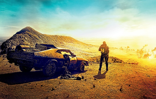 Картинка Ford, Action, Nature, Clouds, Sky, Cars, Mad, Warrior, Wallpaper, Falcon, Sand, Boy, Road, Year, Weapons, …