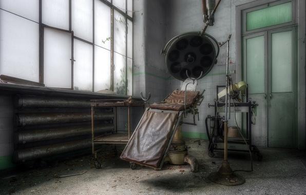 Картинка интерьер, больница, палата