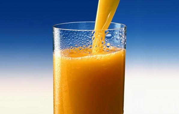 Картинка стакан, апельсин, сок, juice, Orange