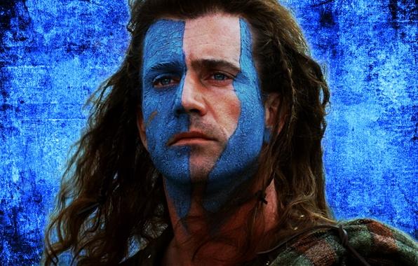 Картинка лицо, фон, герой, Воин, актер, мужчина, soldier, actor, man, face, mel gibson, director, Мэл Гибсон, …