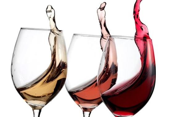 Картинка Alcohol, variety, wine glasses