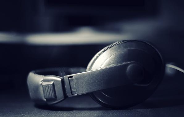 Картинка музыка, наушники, звук, песня, слушать, слух
