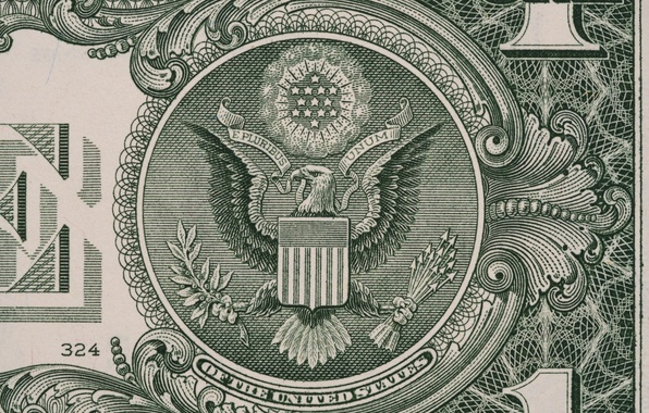 Картинка lines, eagle, dollar, paper, numbers, ink