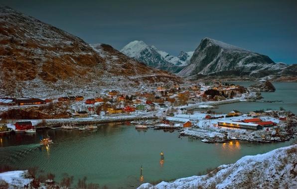 Норвегия фьорды обои на рабочий стол 5