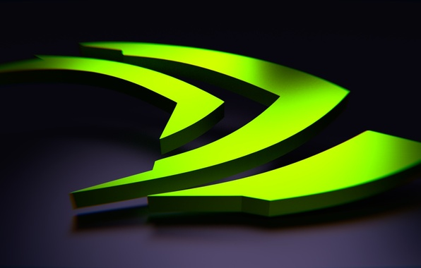 Картинка green, nvidia, logo