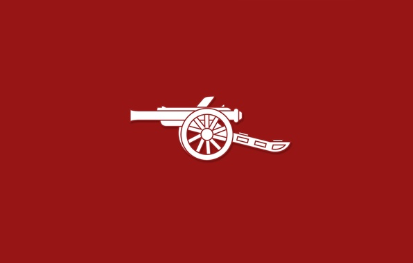 Картинка фон, арт, пушка, Арсенал, art, Arsenal, Football Club, The Gunners, Канониры, Футбольный клуб