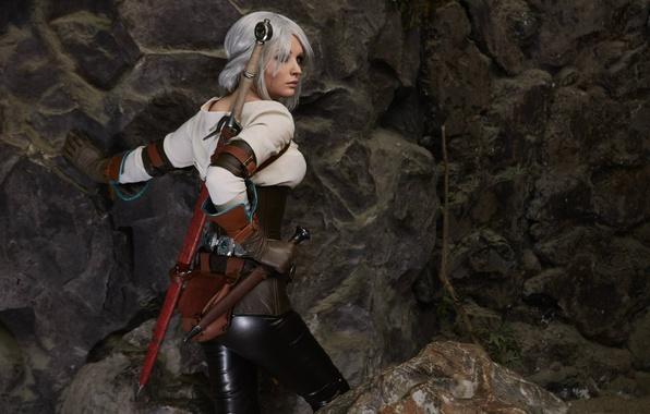 Картинка косплей, The Witcher 3: Wild Hunt, Cosplay, Ведьмак 3: Дикая Охота, Цири, Ciri, Cirilla