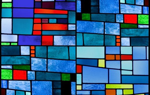Картинка стекло, фон, colors, текстура, colorful, abstract, витраж, glass, background, stained