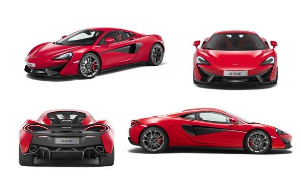 Картинка купе, McLaren, Coupe, макларен, 2016, 540C