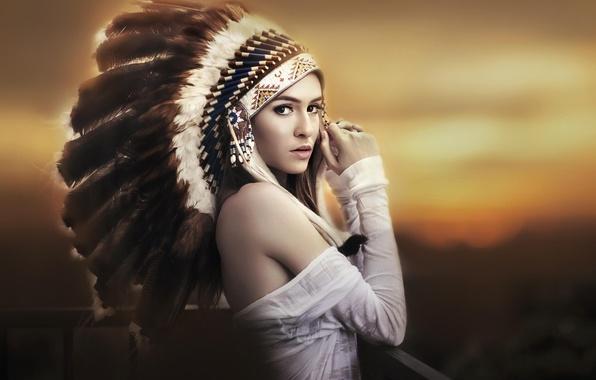 Картинка girl, canon, sunset, model, beauty, indian, Ivan Lee