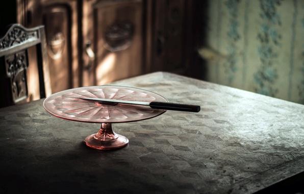 Картинка стол, фон, нож