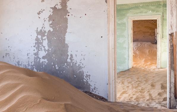 Картинка песок, двери, комнаты