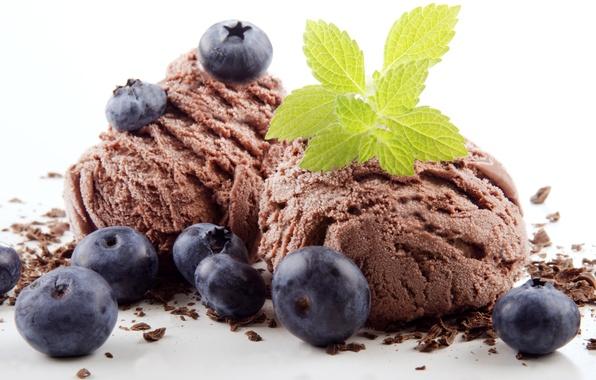Картинка sweet, dessert, berries, ice cream