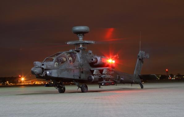 Картинка вертолёт, Apache, AH-64D, ударный, основной, «Апач»