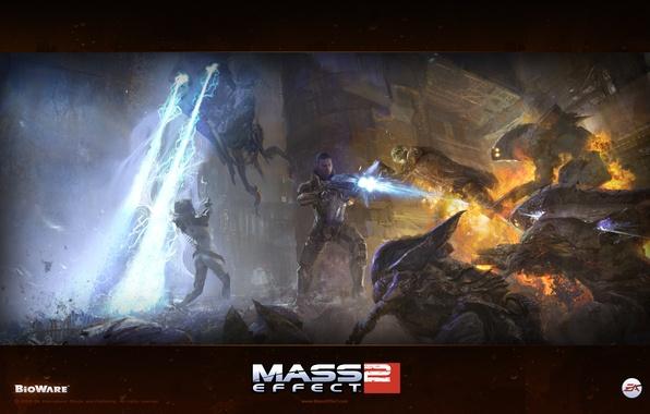 Картинка mass effect, sci-fi, rpg, инопланетяне