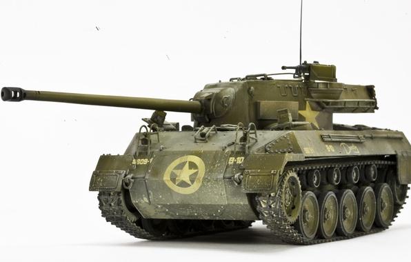 Картинка игрушка, установка, самоходная, артиллерийская, моделька, M18 Hellcat