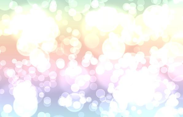 Картинка свет, круги, абстракция, узоры, краски, colors, точки, light, circles, patterns, 1920x1200, боке, bokeh, abstraction, dots