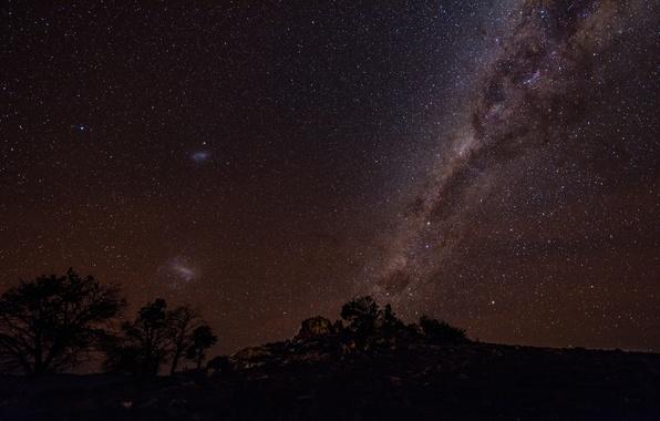 Картинка звезды, ночь, красота, млечный путь