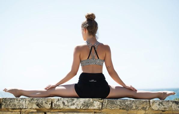 Картинка pose, fitness, stretching