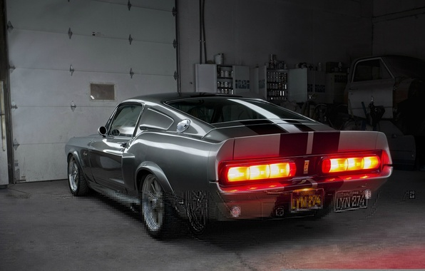 Картинка Mustang, Ford, Shelby, GT500, Eleanor, Muscle car