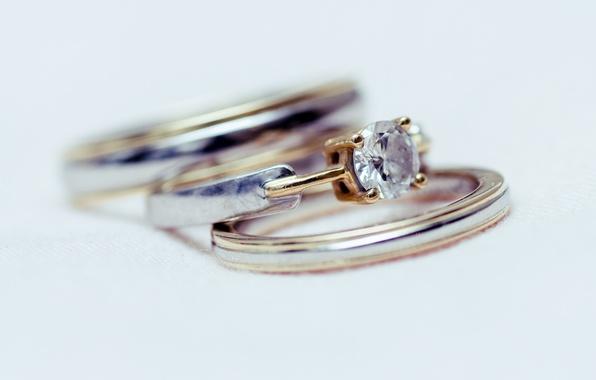 Картинка камень, кольца, обручальные