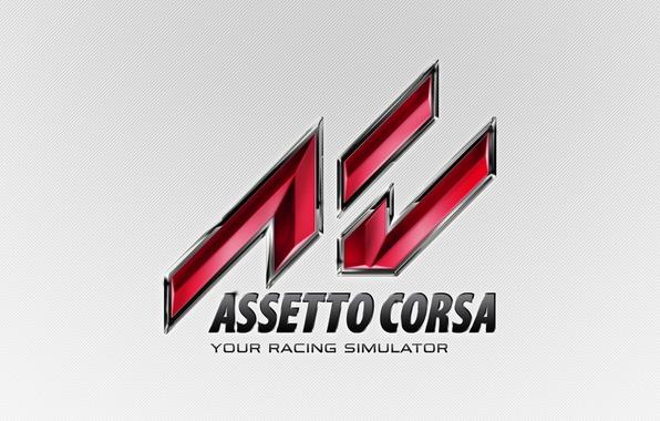 Картинка фон, лого, гонки, logo, game, симулятор, assetto corsa, race simulator