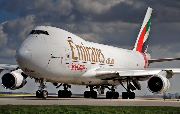Картинка Boeing, Боинг, Emirates, 747