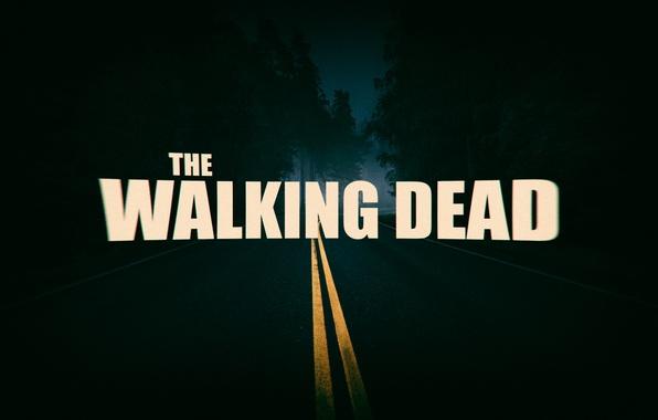 Картинка дорога, ночь, фильм, сериал, триллер, ужасы, ходячие мертвецы, The Walking dead