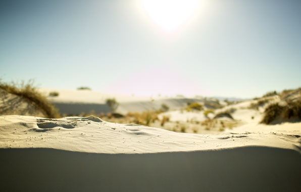 Картинка песок, лето, солнце, природа, пейзажи, жара, пески