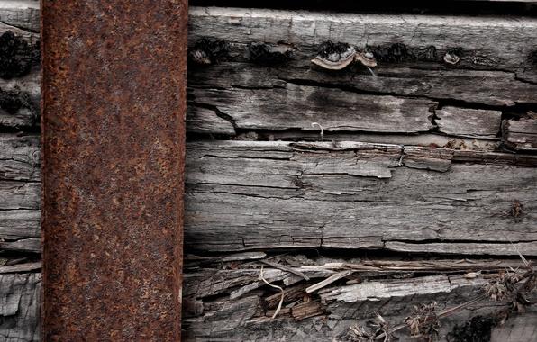 Картинка metal, wood, oxide
