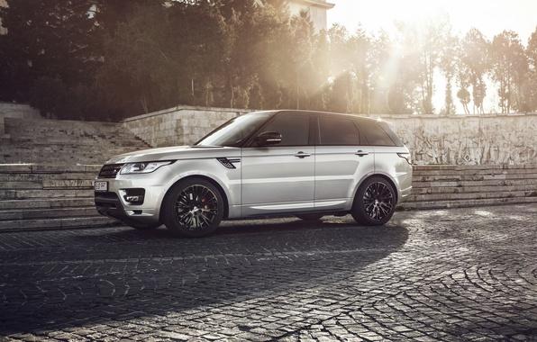 Картинка Land Rover, Range Rover, Sunset, Custom, Wheels, Lumma, Ligth