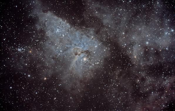 Картинка космос, звезды, туманность, мироздание