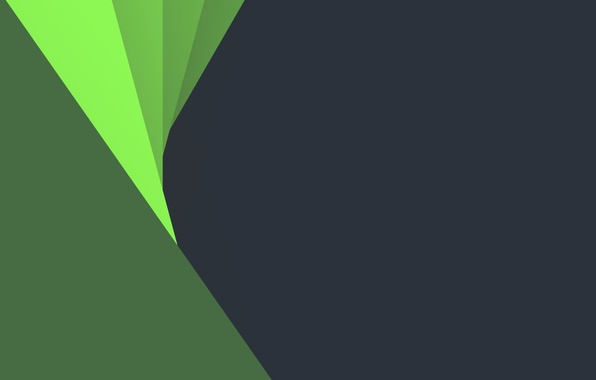 Картинка Android, Circles, Green, Design, 5.0, Grey, Lines, Lollipop, Abstraction, Material