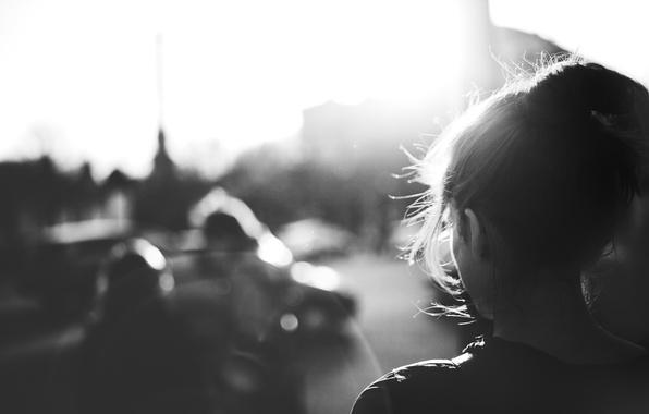 фотографии черно белые фотографии девушки