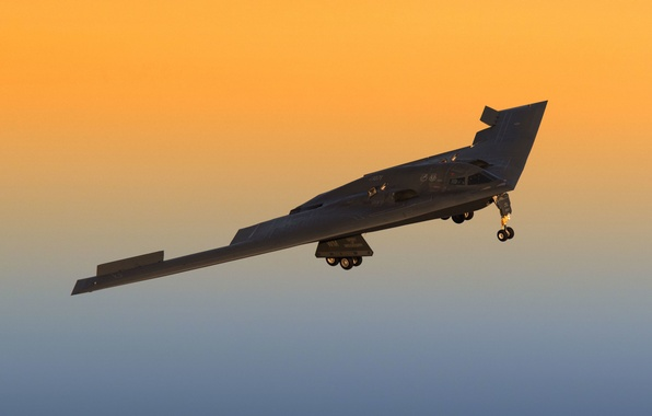 Картинка фон, Spirit, бомбардировщик, стратегический, B-2A