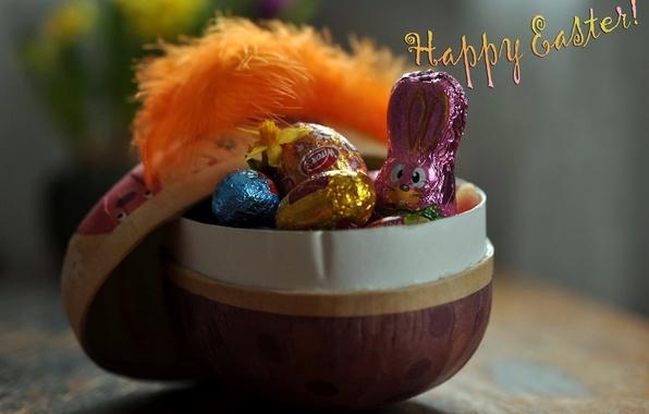 Картинка фон, праздник, Счастливой Пасхи