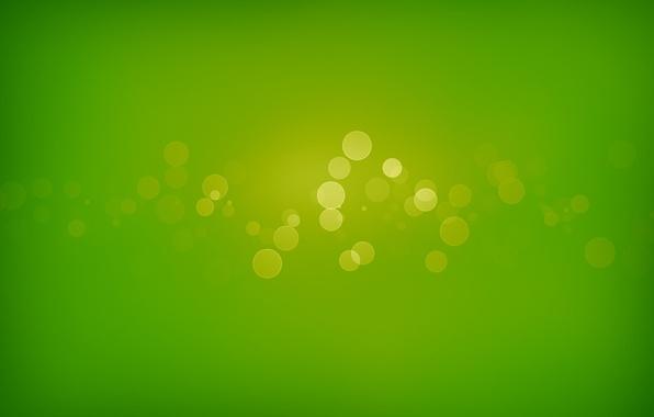 Картинка круги, зеленый, green, узоры, краски, colors, circles, patterns, боке, bokeh, abstraction, 1920x1280, абсракция