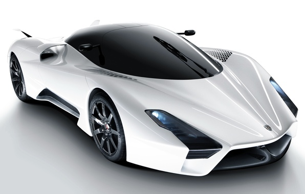 Картинка car, aero, обоя, тачка, белая, суперкар, white, автомобиль, shelby, супер, cars, 2011, шелби, wallpapers, super, …