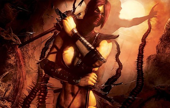 Картинка Art, Mortal Kombat, Mortal Kombat 9, Komplete Edition, Scarlet