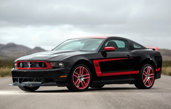 Картинка фон, Mustang, Ford, Форд, Мустанг, Boss 302, передок, Muscle car, Laguna Seca, Мускул кар