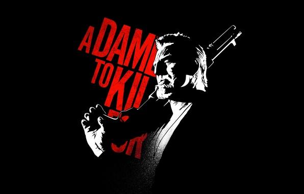 Картинка shotgun, Mickey Rourke, A Dame to Kill For, Sin City 2, Marv