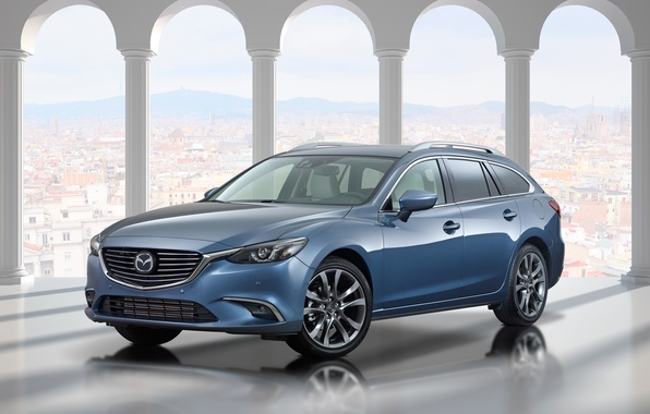 Картинка Mazda, мазда, универсал, Wagon, 2015