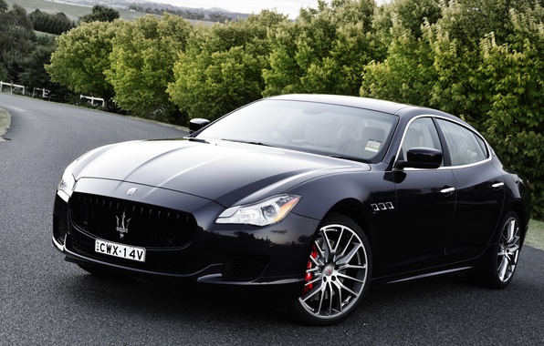 Картинка Maserati, Quattroporte, мазерати, GTS, кватропорте