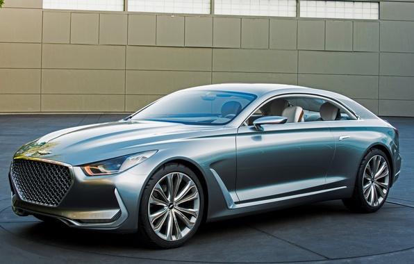Картинка Concept, Hyundai, Coupe, 2015, хундай, Vision G
